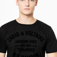Black Tommy Blason T-Shirt