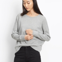 Raglan Fine Knit Sweater