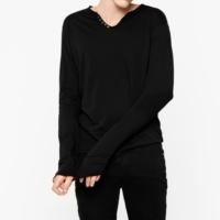 Black Monastir Words T-Shirt