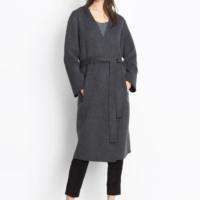 Reversible Belted Wool Coat