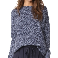 Marl Effect Chunky Sweater