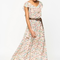 Reen Butterfly Dress