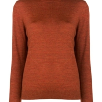 Camel Turtleneck Jumper