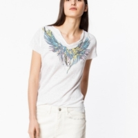 White Tunisien Mc Wings T-Shirt
