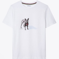 Bulldog Printed T-Shirt