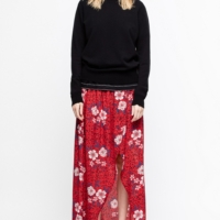 Red Josia Skirt