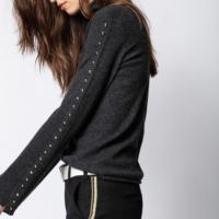 Chrome Studs Sweater
