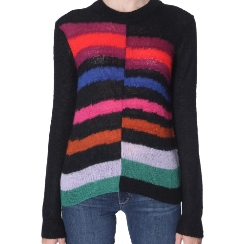 Block Coloured Knit Sweater