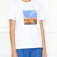 Sunshine & Showers White T-Shirt