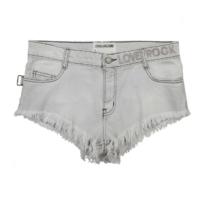 Paly Bleach Mini Shorts