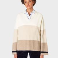 Stripe Gradient Sweater