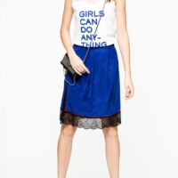 Royal Blue Jillian Skirt