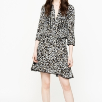 Raspail Leo Crinkle Dress