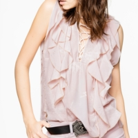 Pink Time Lace Jac Top