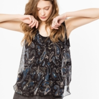 Thym Paisley Top