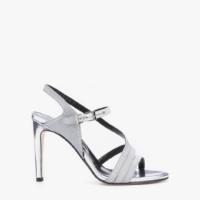 Silver Marilyn Sandals
