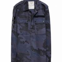 Blue Berne Camou Jacket
