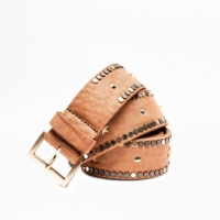 Brown Starlight Coeur Belt