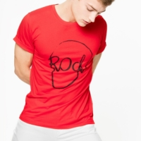 Red Tommy Skull T-Shirt