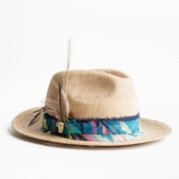Straw Alabama Paille Hat