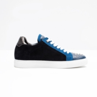 Blue Jungle Clous Sneakers