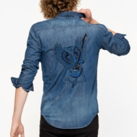 Blue Sigmund Denim Shirt
