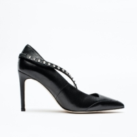 Black Cover Pumps
