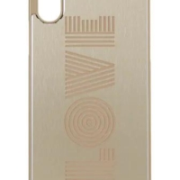 Gold Love Met Phone Cover