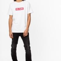 White Tibo Voltaire T-Shirt