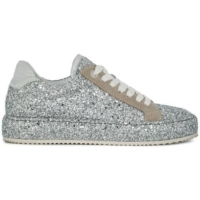 Silver Dream Glitter Sneakers