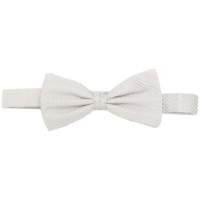 Ice White Jacquard Bow Tie