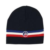 Navy Bonnet Wengen Beanie Hat