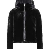 Black Mongie Faux Fur Jacket