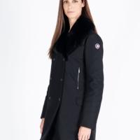 Black Edith Fur Coat