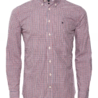 Red Dual Coloured Gingham Shirt