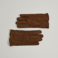Tan Suede Gloves