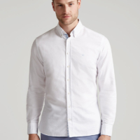White Oxford T-Shirt