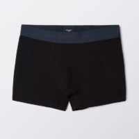 Black Trank Underwear Set of 3