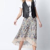 Mandala Print Joslin Glam Skirt