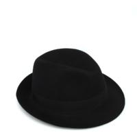 Black Classic Felt Hat