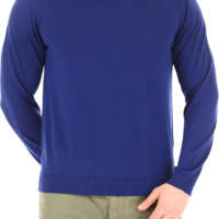 Electric Blue Knit Sweater
