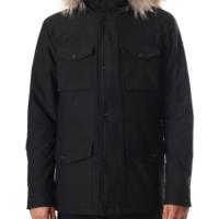 Black Duingt II Parka Coat