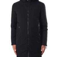 Black Giez II Fur Coat
