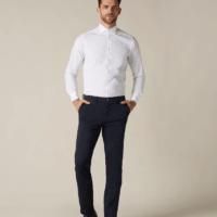 Navy Blue Slimmy Chino Pants