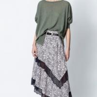 Pink Juliet Print Hortensia Skirt