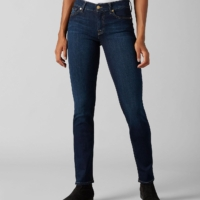 Bair Rinsed Indigo Mid Rise Roxanne Jeans