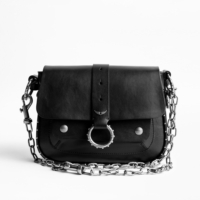 Black Kate Leather Bag