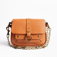 Camel Kate Leather Bag
