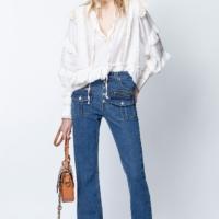 Off-White Trinity Cotton Blouse *Fashion Show*