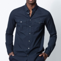 Navy Thibault Shirt